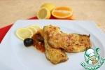 Рыба над соусом