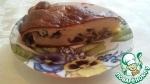 Заливной пирог с лесными грибами