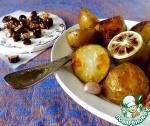 Запечённый картофель с карамельными орехами