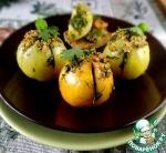 Запечённые зелёные помидоры