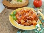 Тортильони в томатном соусе