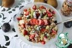 Фруктовый салат с хрустящим мюсли