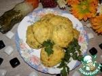 Котлеты из картофеля, кабачков и творога