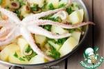 Рагу с картофелем и осьминогами