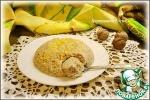 Запеканка творожная с грецкими орехами