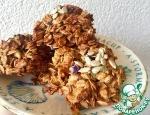 """""""Овсяное"""" печенье с курагой и яблоками"""