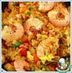 Рис жареный с креветками по-тайски