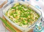 Картофель в молоке под сыром (СВЧ)