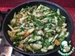 Жареная картошка с жареной селедкой