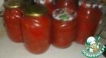 Пряные помидоры в собственном соку