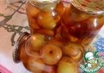 Яблоки в яблочном соке