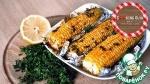 Кукуруза запеченная со специями и зеленью