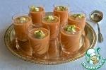 Холодный суп из гороха нут с сальсой