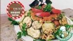Овощной тортик-закуска с кабачками