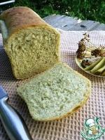 Хлеб с маринованным огурцом