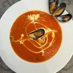 Быстрый томатный крем-суп