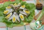 Простой салат в деревенском стиле