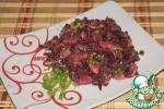 Салат из свеклы с грибами