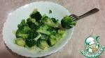 Брокколи в чесночном соусе