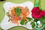 Салат с гречкой и творогом