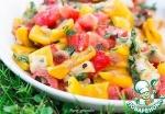 Салат из овощей по мотивам хороваца