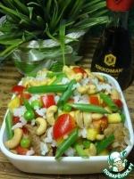 Китайский салат из курицы