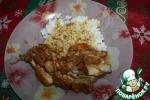 Румяная курица в соусе