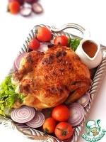 Курица варено-запеченная