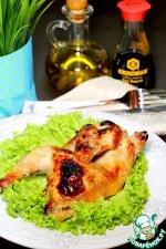 Цыплята в имбирно-соевом маринаде
