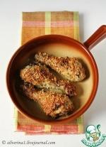 Цыпленок, запеченный с травами и пармезаном