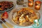 Куриная грудка с рисом и сухофруктами