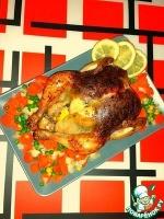Курица с тархуном, запеченная в духовке
