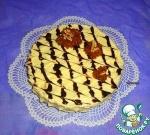 Бисквитно-яблочный торт