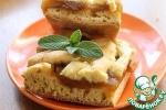 """Песочный пирог с яблочным вареньем """"Нежный"""""""