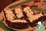 Шоколадно-кофейная выпечка с кремовой прослойкой