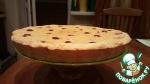 Пирог с айвой, вишней и грецкими орехами