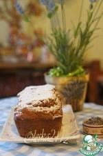 Тыквенно-лавандовый кекс