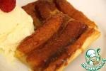 Французский банановый тарт
