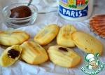 Шоколадно-ореховые мадлен
