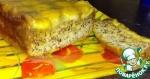 Банановый пирог-перевёртыш с карамелью