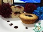 Творожные кексы со сливой