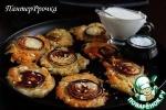 Картофельные оладьи с луковым припеком