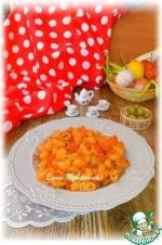 Паста овощная с оливками