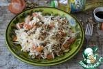 Салат из капусты с грецкими орехами