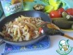 Жареный картофель по-чувашски