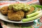 Вегетарианские котлеты с авокадным соусом