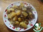 Картошка с грибами в рукаве