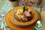 Гречка с помидорами и сыром в индийском стиле