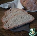Быстрый полбяной хлеб на закваске