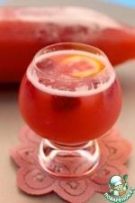 """Дынно-малиново-цитрусовый напиток """"Агуа фреска"""""""